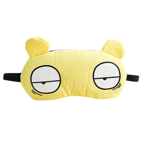 Cute Cartoon Sleep Eye Mask Padded