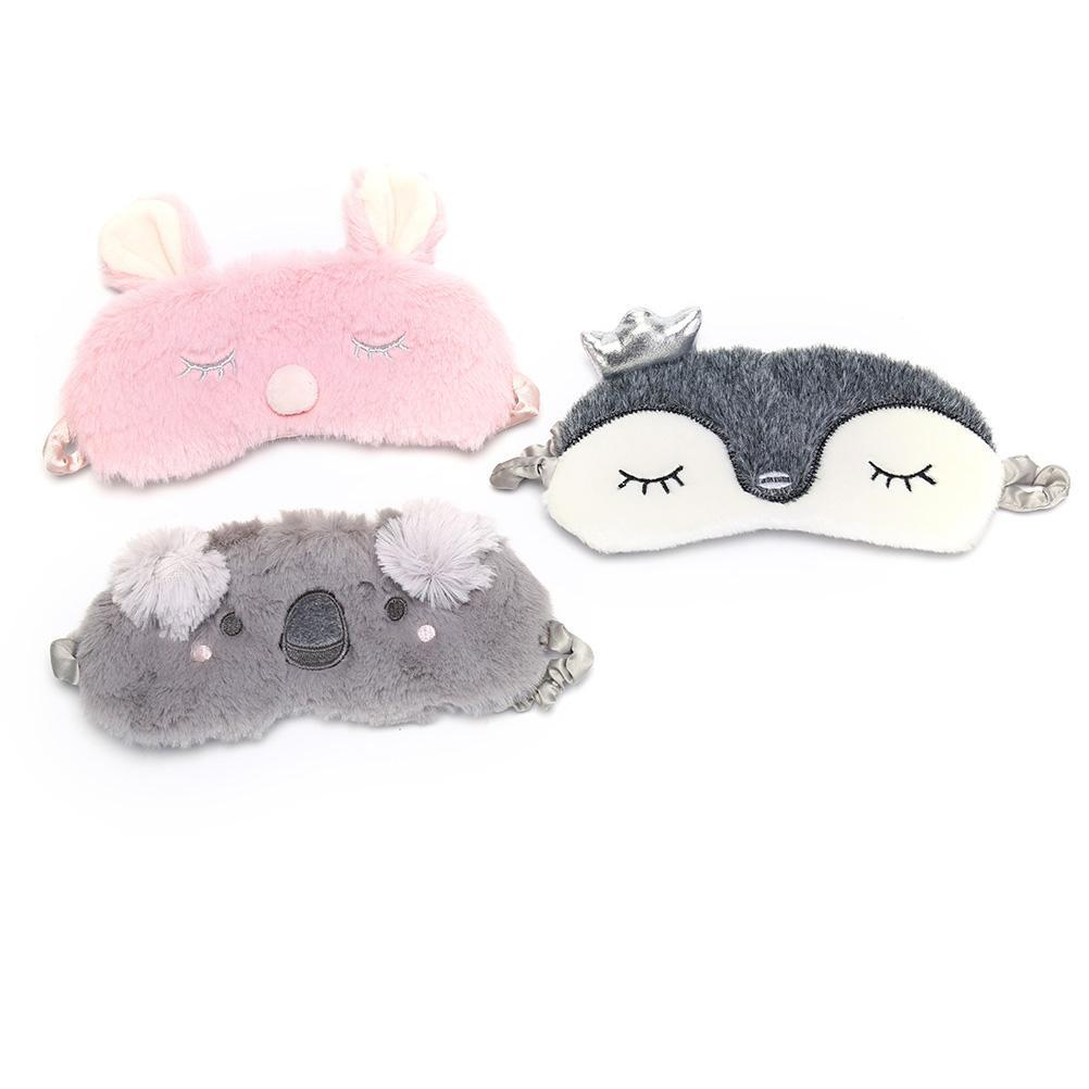 Cartoon Plush Sleep Mask
