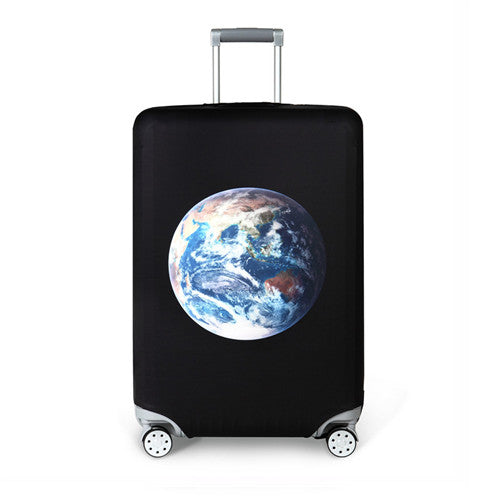 Suitcase Protective Cover Elastic Earth
