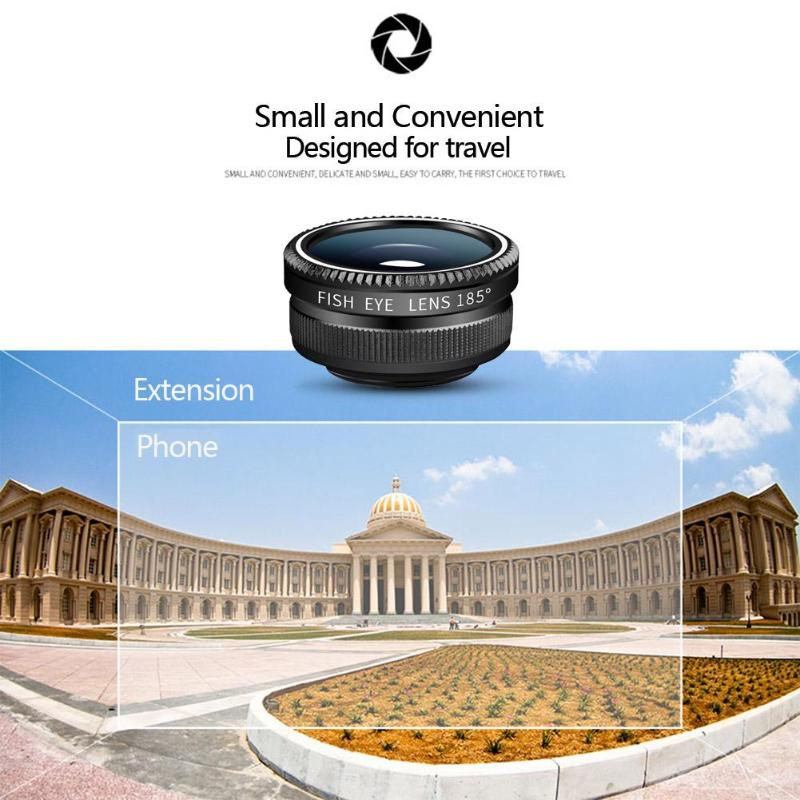 5 in 1 Fish Lens / Wide Angle /  Telephoto Lens for Mobile Phone