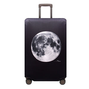 Travel Suitcase Protective Elastic Moon Cover