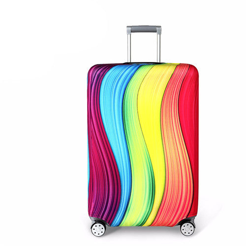 Suitcase Protective Cover Elastic Colors