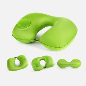 Automatic Inflatable Travel Pillow