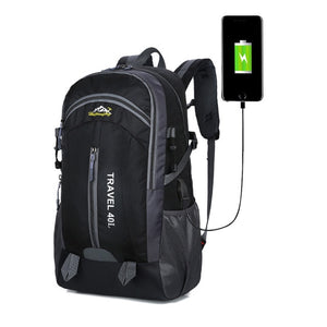 40L Waterproof Charge Anti Theft Backpack