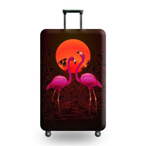 Flamingo Suitcase Protective Cover 18-32inch