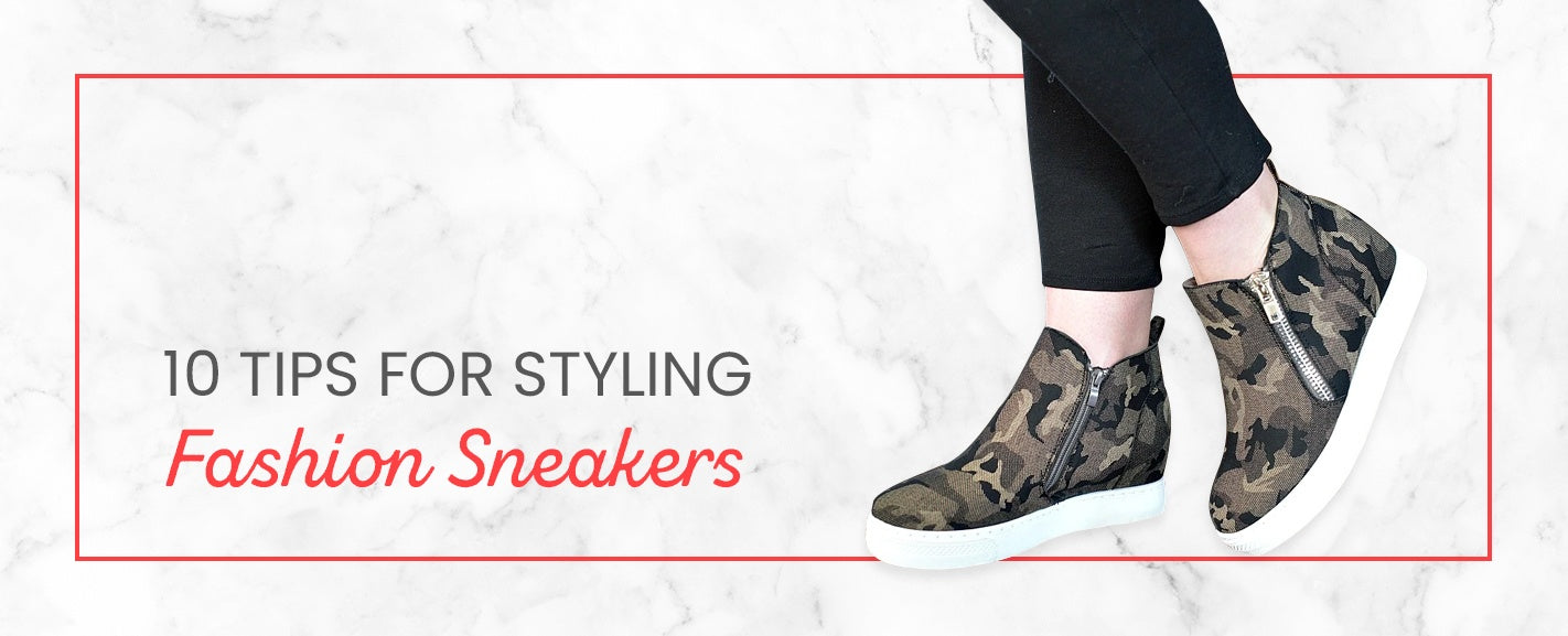 10 Tips for Styling Fashion Sneakers