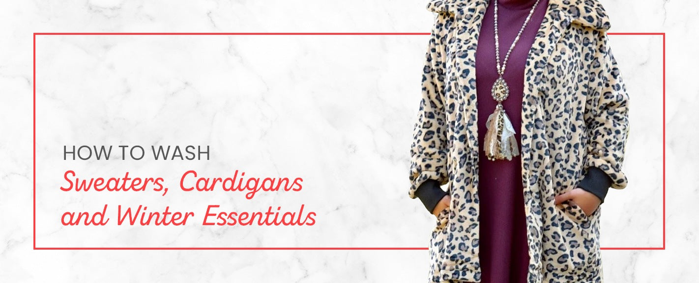 How to Wash Sweaters, Cardigans and Winter Essentials