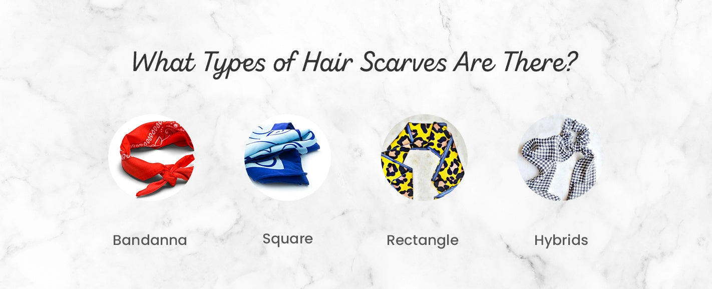 What Types of Hair Scarves Are There