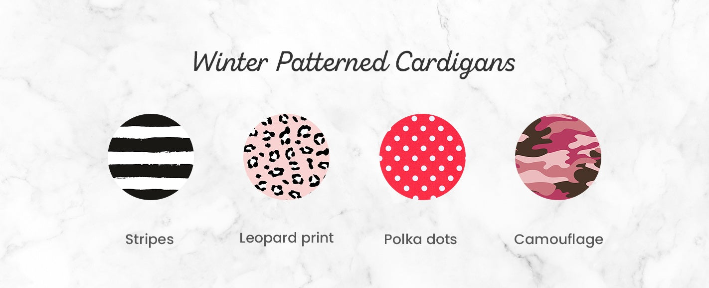 Winter Patterned Cardigans