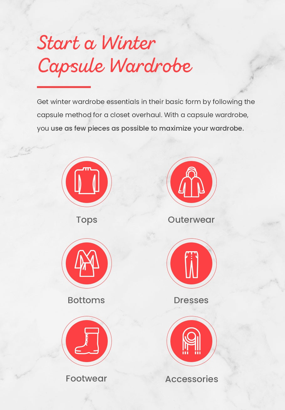 Start a Winter Capsule Wardrobe