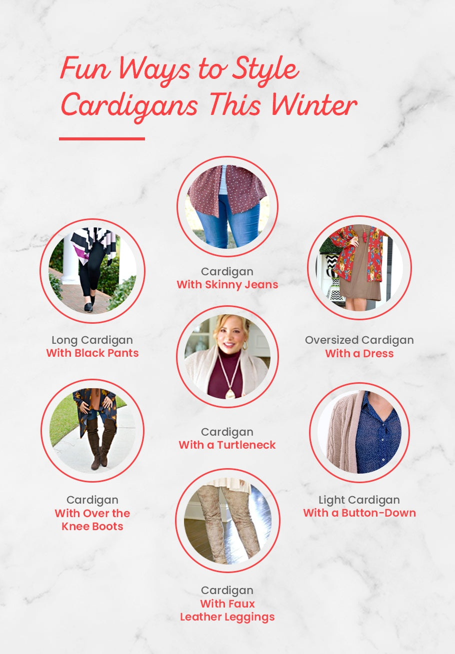 Fun Ways to Style Cardigans This Winter