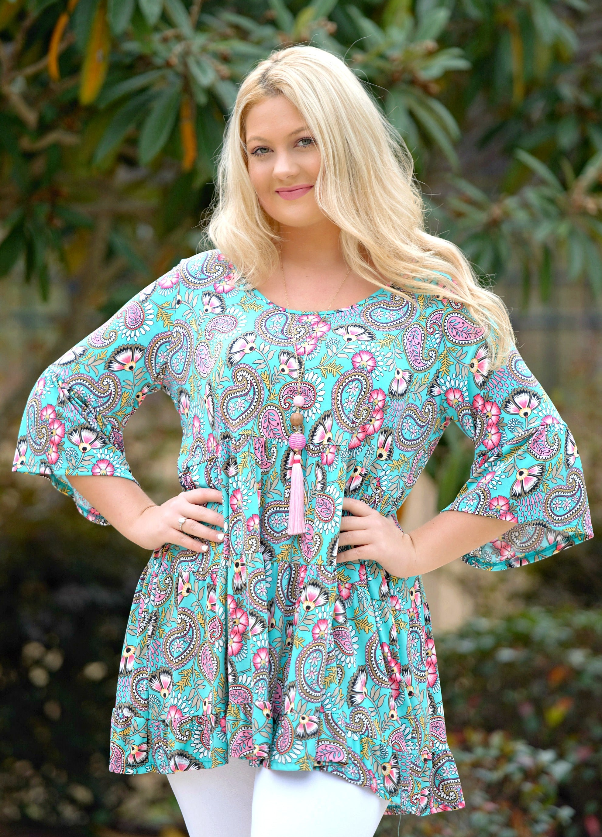 Plus sized tunics