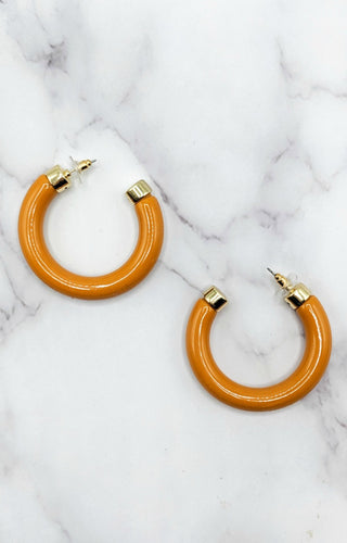 High Energy Hoop Earrings