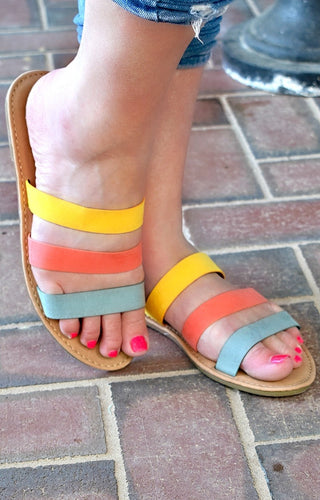 Blissful Breeze Sandals - Multi