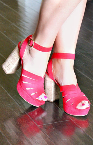 One Above Heels - Red
