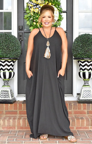 Did It Before Maxi Dress - Black