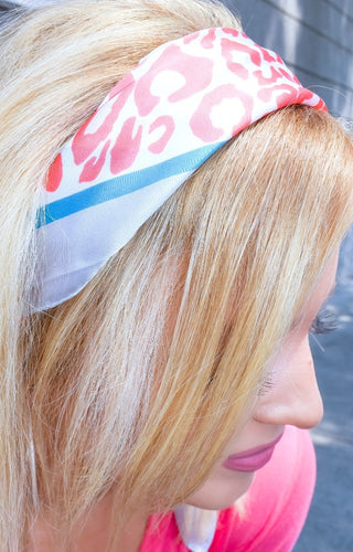 Best Impression Leopard Print Hair Scarf