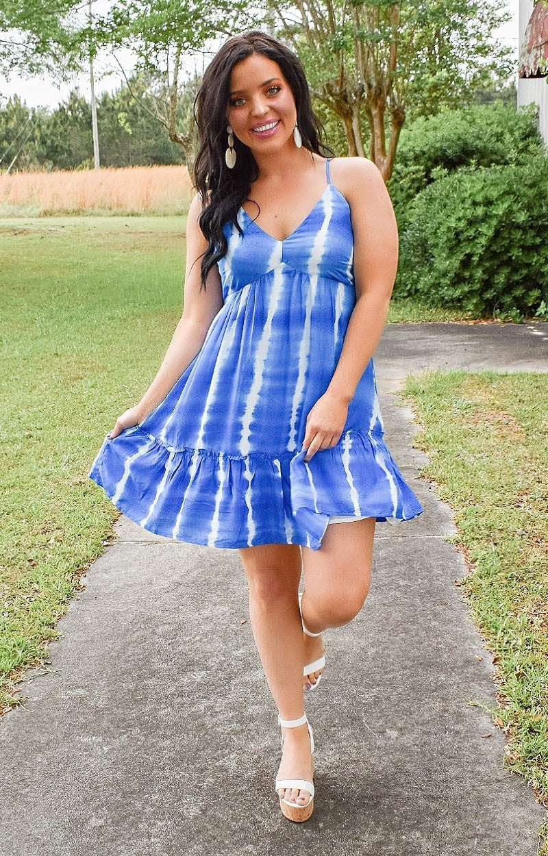 Fated Love Tie Dye Dress