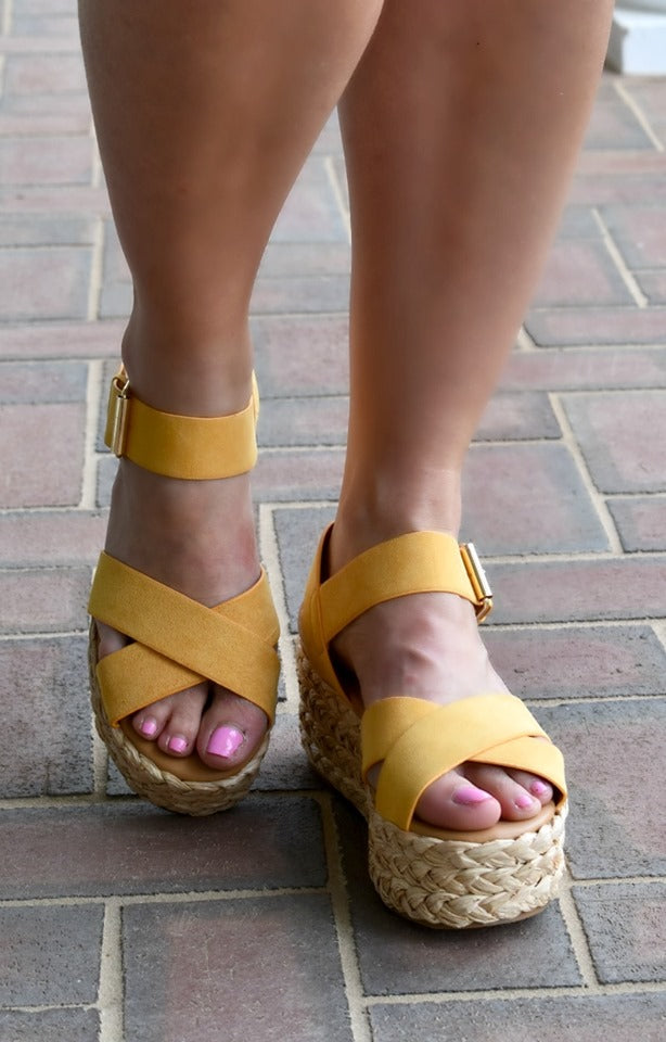 Load image into Gallery viewer, Get To Know Me Wedges - Saffron