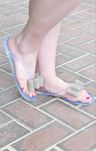 One Way Ticket Sandals - Clear
