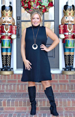 Never Miss A Beat Dress - Black