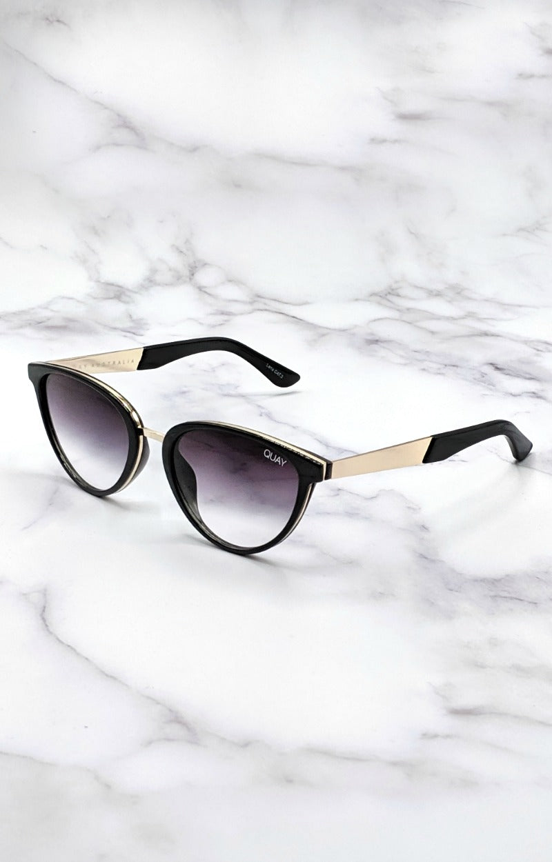 Load image into Gallery viewer, Quay Australia - Rumours Black/Fade Sunglasses
