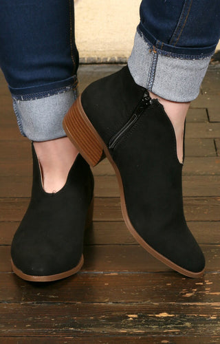 Don't Be Afraid Booties - Black
