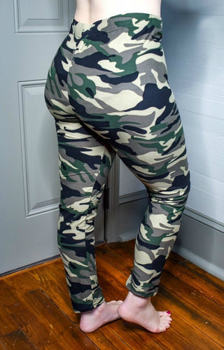 Down To Business Camo Print Leggings