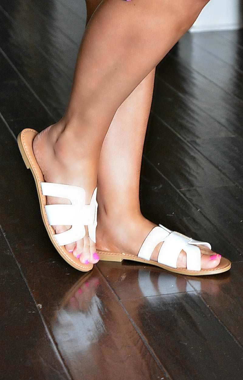 Always In Motion Sandals - White