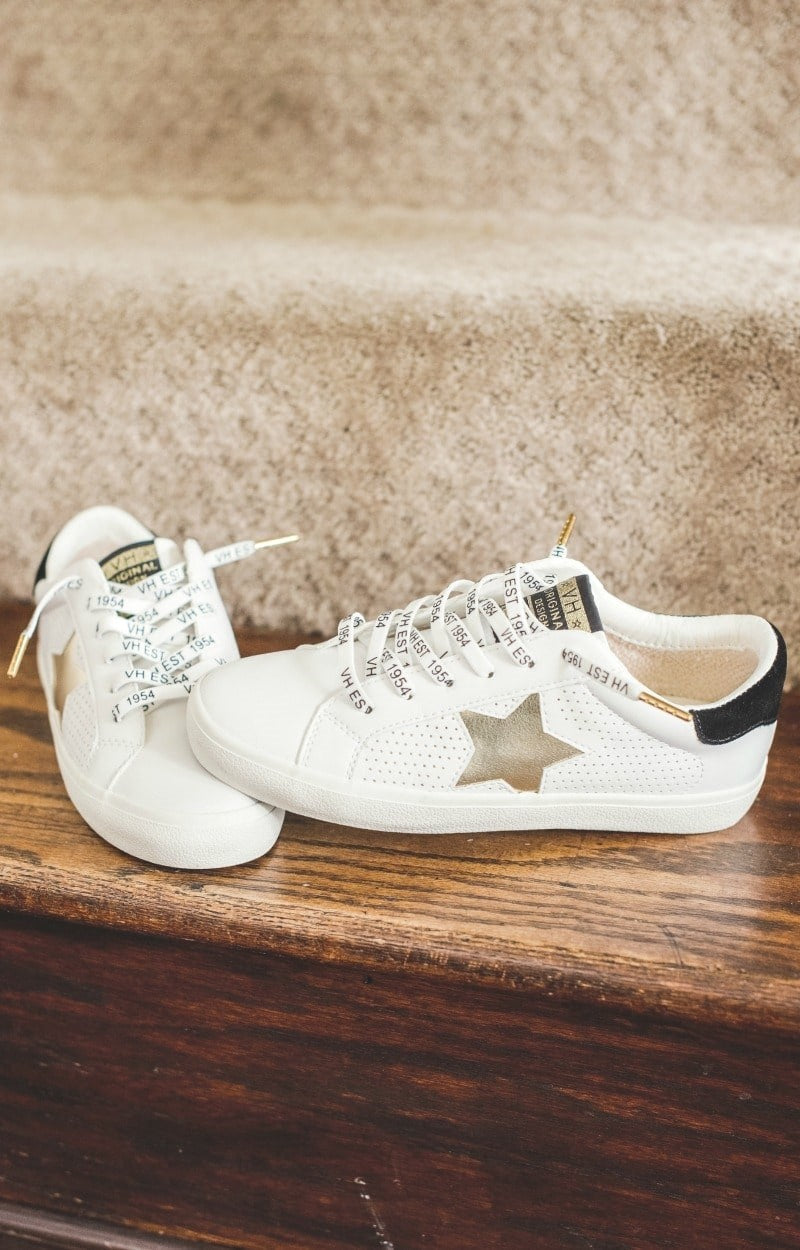 Load image into Gallery viewer, Vintage Havana - Gadol Sneakers - Gold