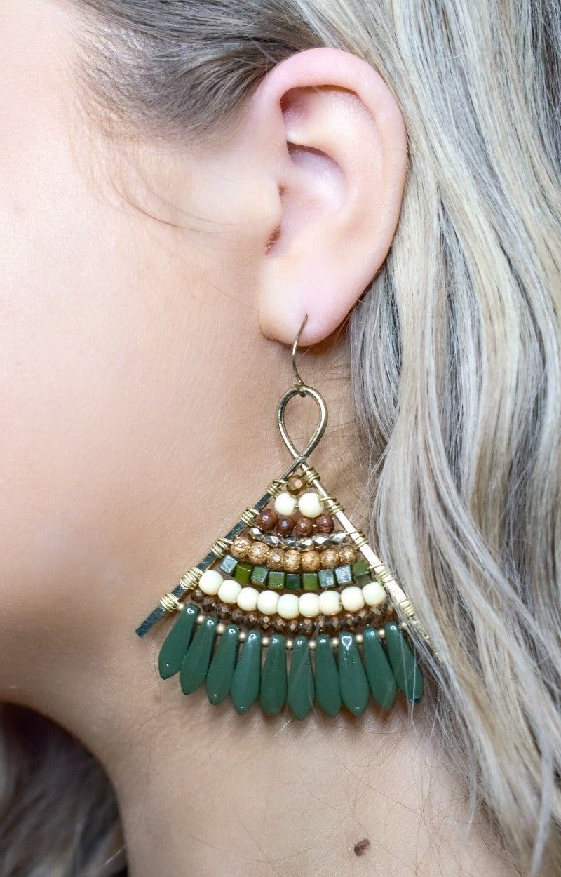 Load image into Gallery viewer, Off The Hook Earrings