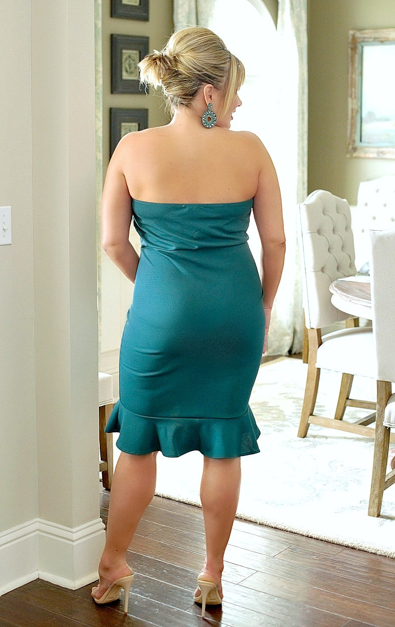 Elegance & Beauty Dress - Teal