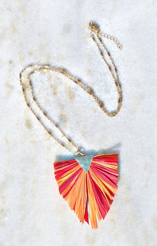 Fan The Flames Necklace