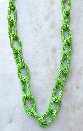 This Is The Life Necklace - Green