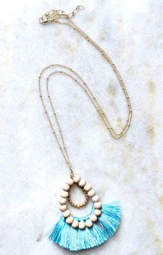 Have We Met Necklace - Mint