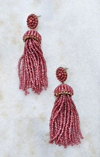 Wish Come True Earrings - Pink