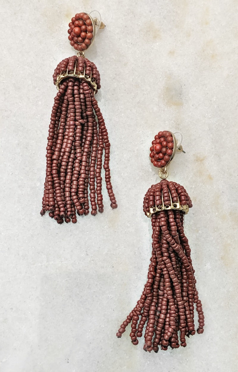Load image into Gallery viewer, Wish Come True Earrings - Rust
