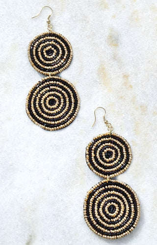 It's My Thing Earrings - Black