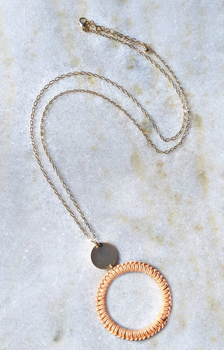 Wish Came True Necklace - Peach