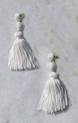 So Surreal Earrings - White