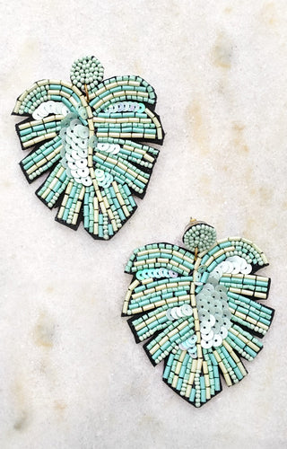 Working Wonders Earrings - Mint
