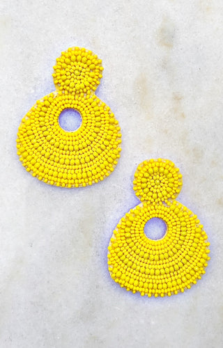 Sweet Fantasy Earrings - Yellow