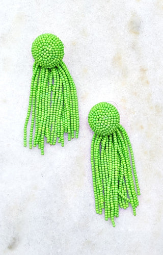 Endless Days Earrings - Lime