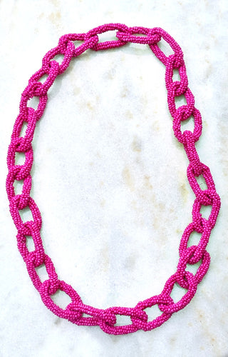 Always Glam Necklace - Berry