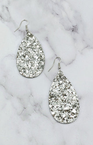 It's That Simple Earrings - Silver