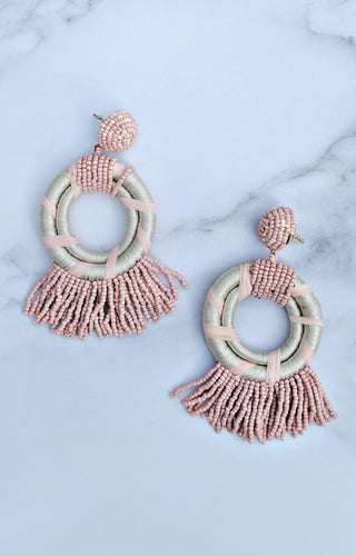 Ever Enchanting Earrings - Ivory/Blush