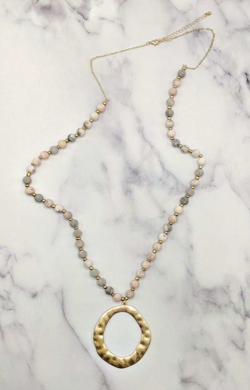 Load image into Gallery viewer, Tell Her About It Necklace - Pink