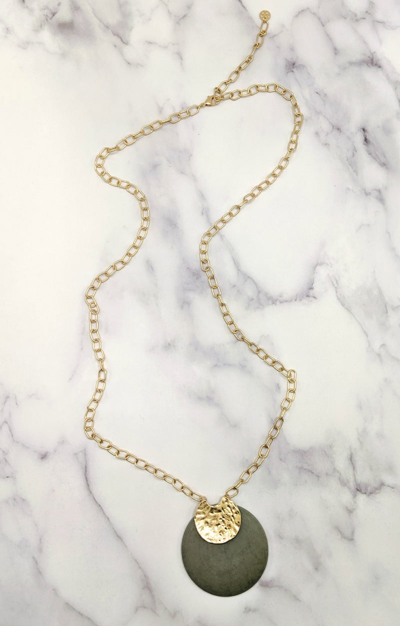 Load image into Gallery viewer, Lowkey Weekend Necklace - Gray