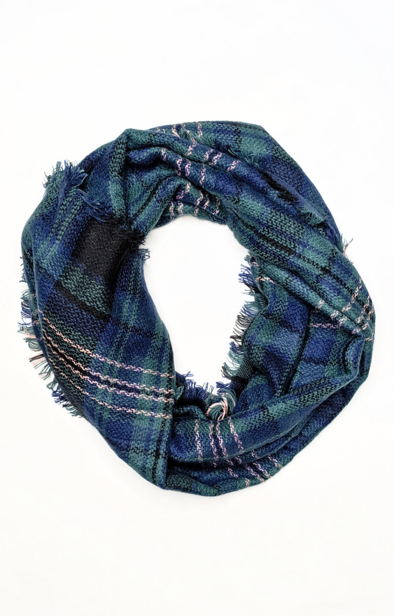 Load image into Gallery viewer, Classy Girl Plaid Scarf
