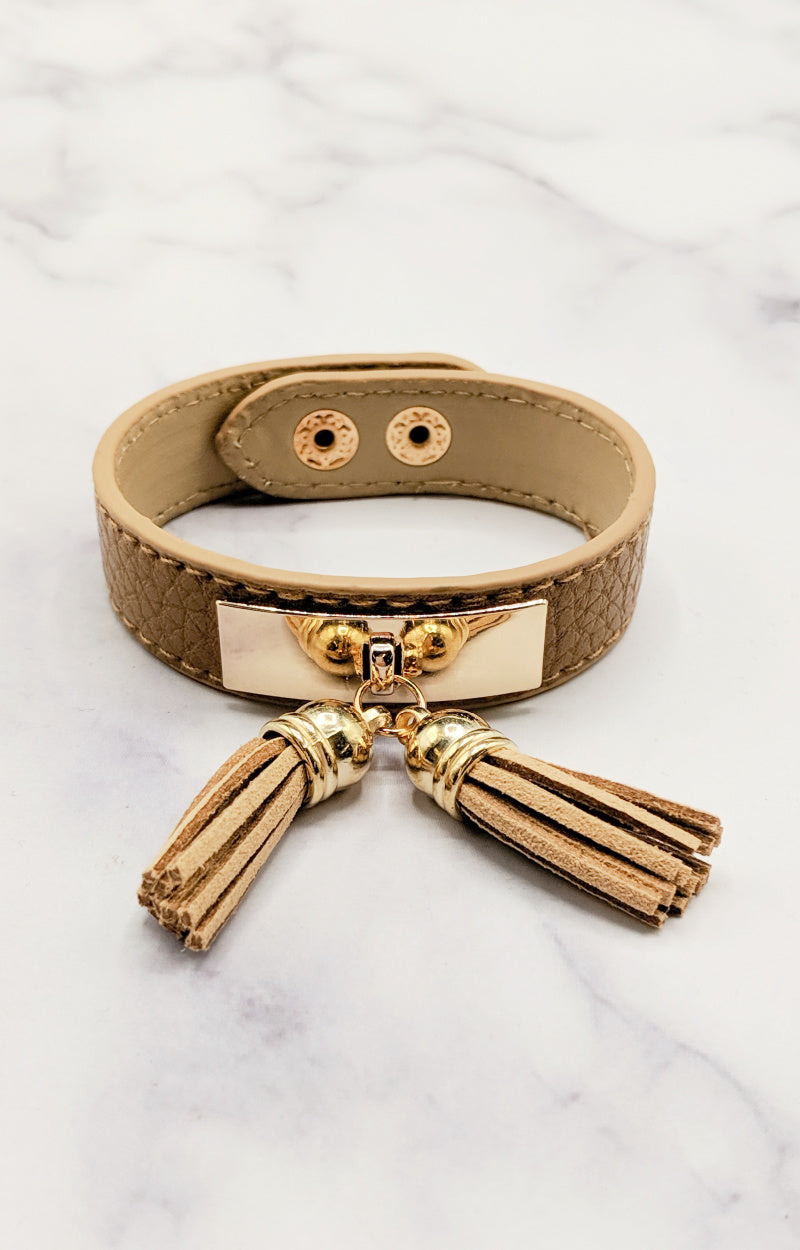 Load image into Gallery viewer, Taking Notes Bracelet - Brown